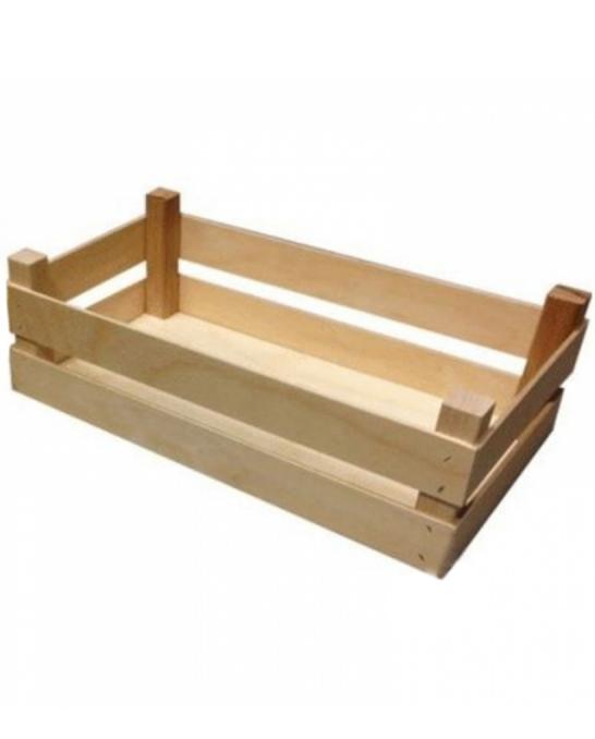 Accessori per Servizio Bar ,Cassetta in legno 32x17.5x10 cm