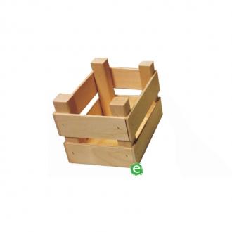 Accessori per Servizio Bar ,Cassetta Mini porta attrezzatura in legno 14x10x10 cm