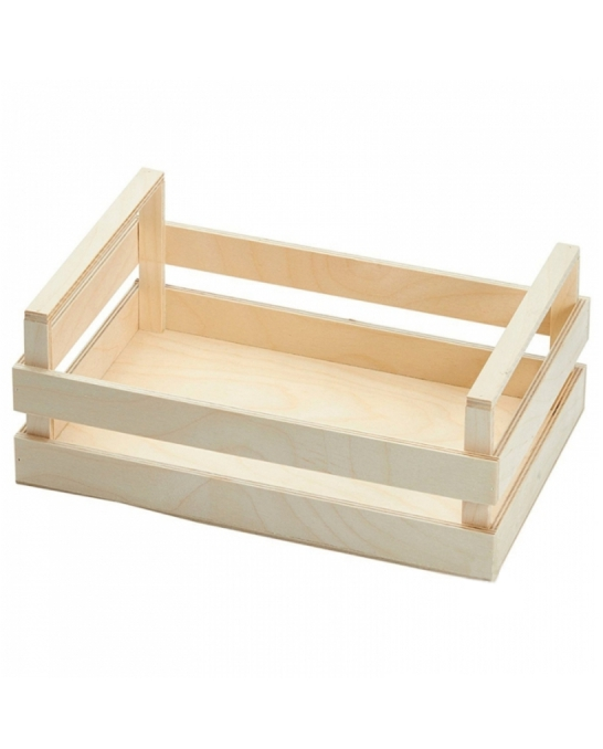 Accessori per Servizio Bar ,Cassetta/Vassoio in legno 30x20x10 cm