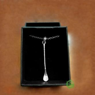 Abbigliamento per Barman ,Ciondolo Bar Spoon in argento 925
