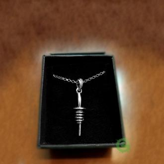 Abbigliamento per Barman ,Ciondolo Metal Pour in argento 925