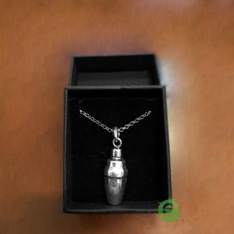 Abbigliamento per Barman ,Ciondolo Shaker Cobbler in argento 925