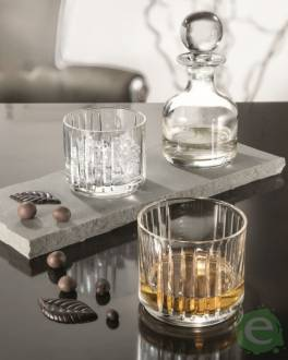 Bicchieri RCR,Combo RCR: bottiglia + due bicchieri whisky 7pz