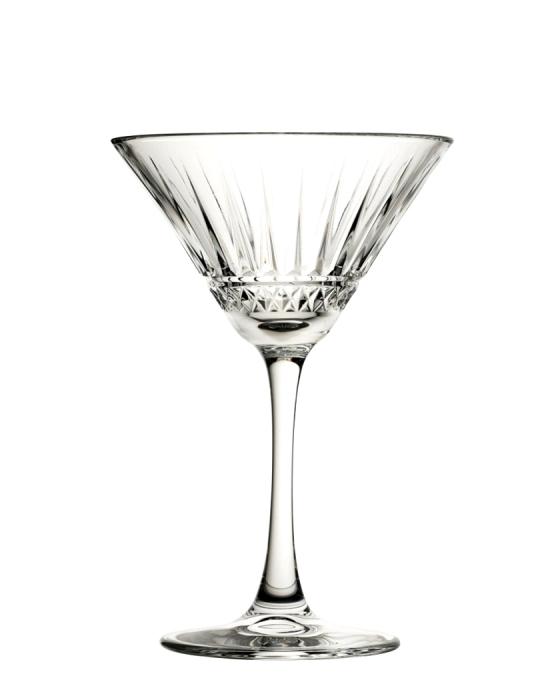 Bicchieri da Cocktail ,Coppa Elysia Martini 22 cl 6 pezzi