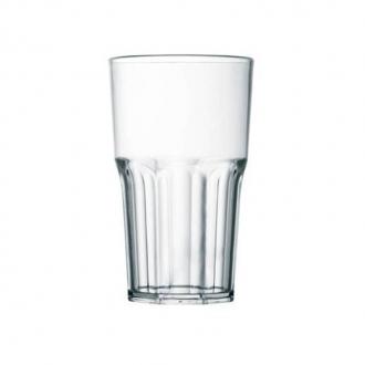 Bicchieri in Plastica ,Granity 40 cl trasparente 10 pezzi