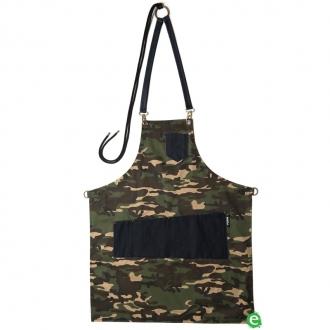 Abbigliamento per Barman ,Grembiule Pukka Military Apron in gabardine