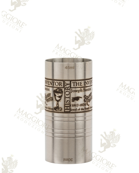 Jiggers ,Jigger Maggiore Crusta 30/45 ml