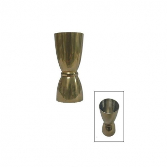 Jiggers ,Jigger Measure B 30/45 ml Oro antico