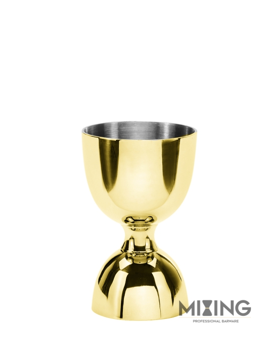 Jiggers ,Jigger Mixing oro lucido 30/60 ml