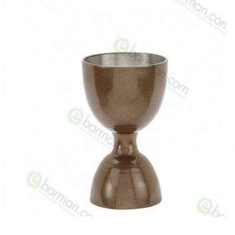 Jiggers ,Jigger ML 30/60 ml placcato in Bronzo