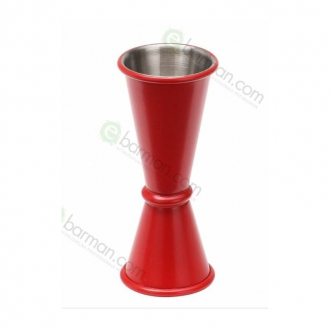 Jiggers ,Jigger style japanese 30/45 ml Rosso