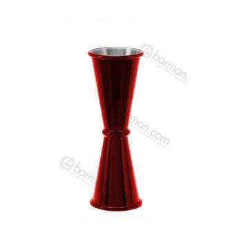 Jiggers ,Jigger style japanese 45/50 ml Rosso Rubino
