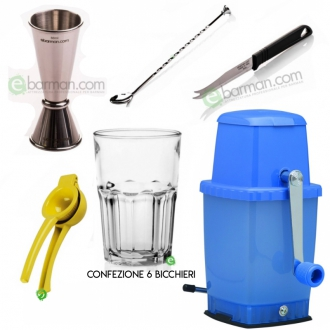 Kit e valigette Barman ,Kit Barman Mojito Set 11pz