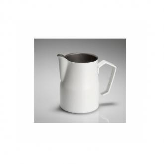 Caffetteria e Latte Art ,Lattiera professionale bianca 35 cl