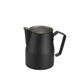 Caffetteria e Latte Art ,Lattiera professionale nera 35 cl