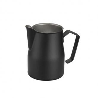 Caffetteria e Latte Art ,Lattiera professionale nera 50 cl