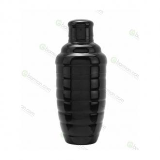 Shakers Cobbler,Linea Economy Shaker Bomb Nero lucido 50 cl