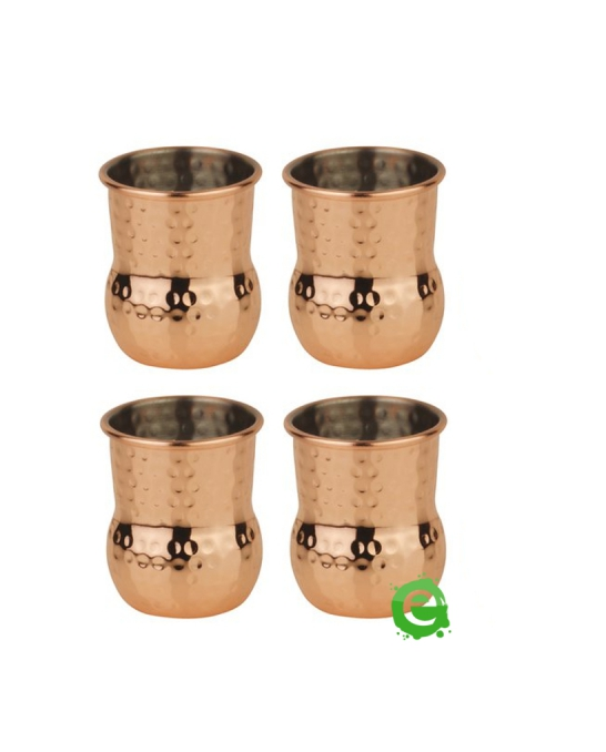 Mug,Mini mug per shot color rame 6 cl 4pz