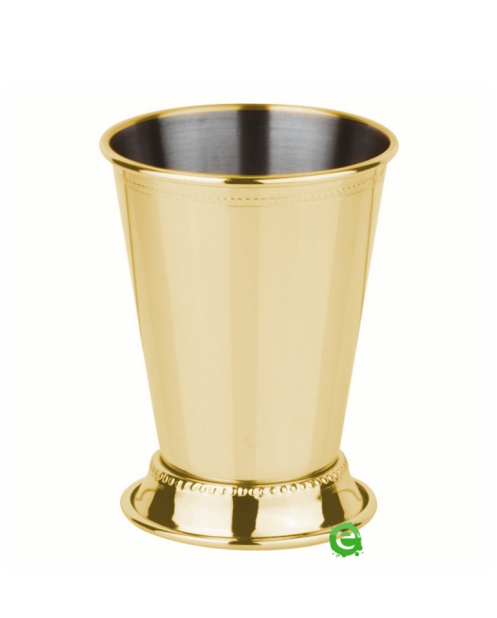 Mug,Mint Julep Cup decorata oro 38 cl