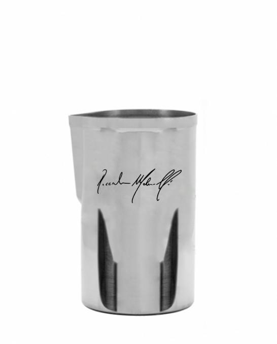 Attrezzatura Barman Personalizzata ,Mixing glass Mr Slim™ personalizzato con firma 580 ml