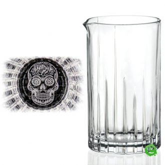 Mixing Glasses  ,Mixing Glass RCR Combo Mexican Skull Seamless 650 ml