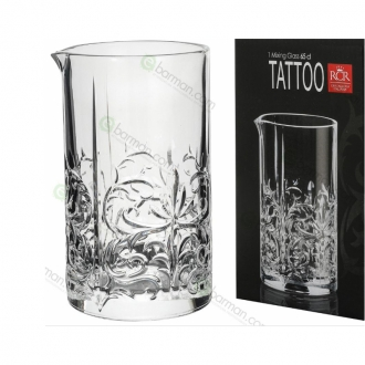 Mixing Glasses ,Mixing Glass RCR Tattoo Seamless 650 ml