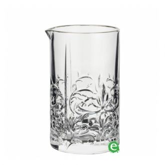 Mixing Glasses ,Mixing Glass RCR Tattoo Seamless Bordo Platinum 650 ml