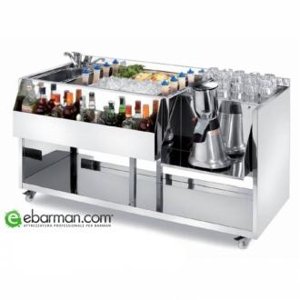 Moduli Bar e Bottigliere ,Modulo Bar M150 con lavabo