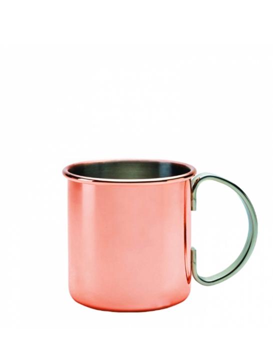 Mug,Moscow mule mug rame con manico acciaio 50 cl