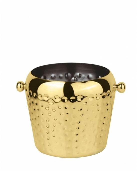 Accessori Ghiaccio ,Portaghiaccio color oro 2 lt