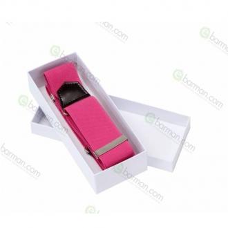 Abbigliamento per Barman ,Reggimanica in stoffa elastica Rosa