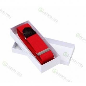 Abbigliamento per Barman ,Reggimanica in stoffa elastica Rosso
