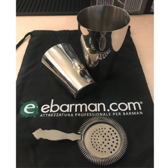 Kit e valigette Barman ,Set Barman Shaker Boston con Omaggio
