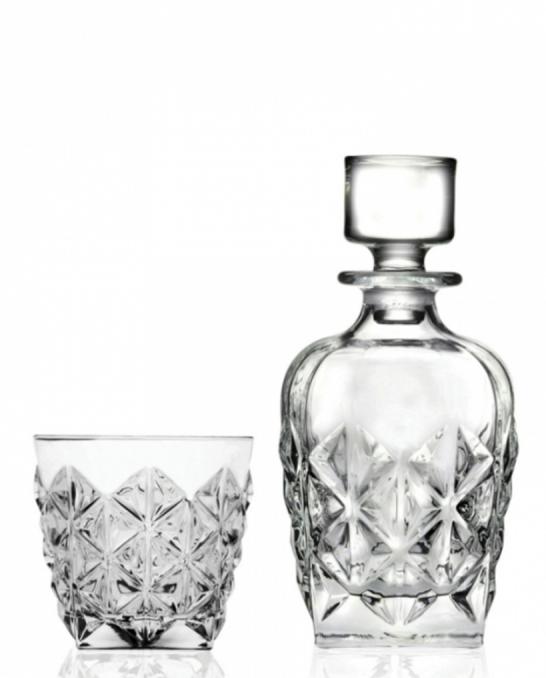 Bicchieri RCR ,Set Enigma RCR Whisky 7 pezzi