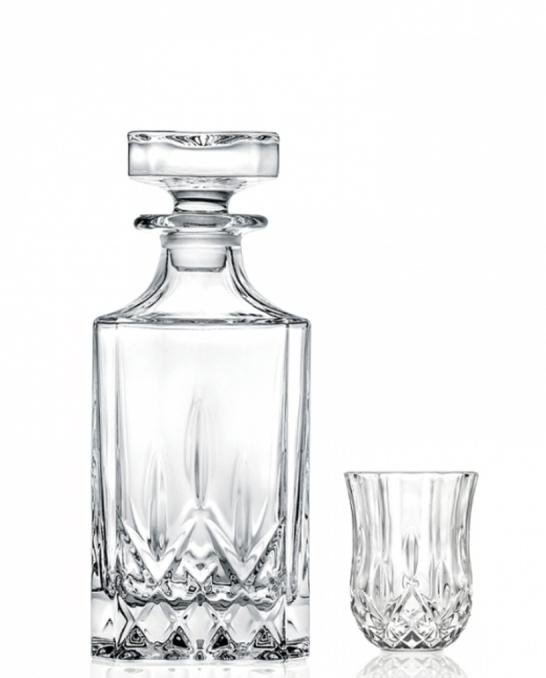 Bicchieri RCR ,Set Opera RCR distillato 7 pezzi