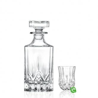 Bicchieri RCR  ,Set Opera RCR distillato 7pz