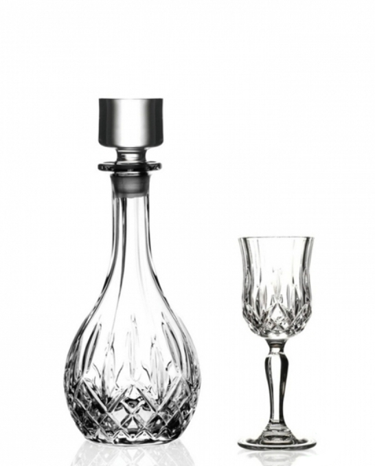 Bicchieri RCR ,Set Opera RCR Liquore 7 pezzi