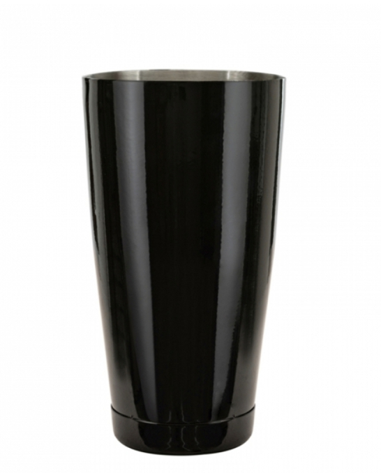 Shakers Boston ,Shaker Boston Bilanciato IRON PRO Premium Mixing Tin 900 ml Nero Lucido