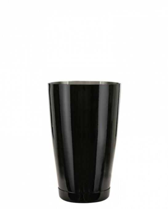 Shakers Boston ,Shaker Boston Bilanciato Premium Mixing Half Tin 600 ml Nero Lucido