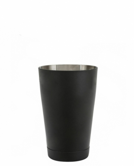 Shakers Boston ,Shaker Boston Bilanciato Premium Mixing Half Tin 600 ml Nero Opaco