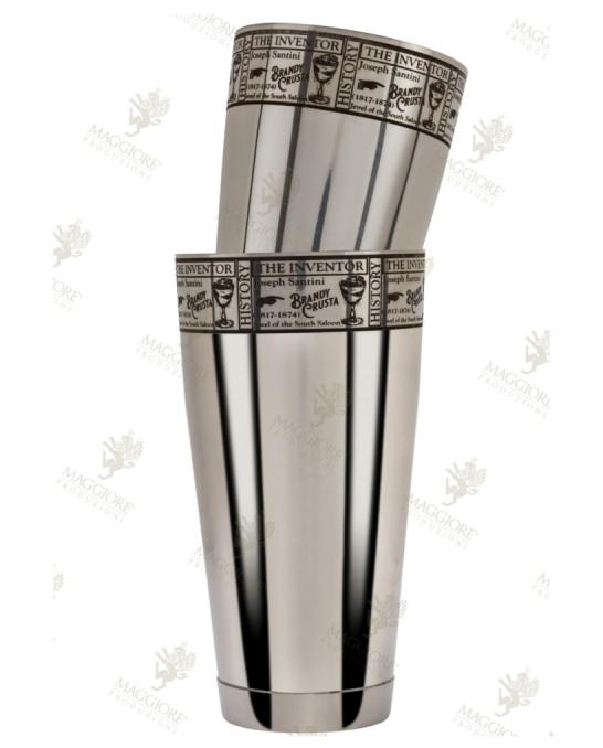 Maggiore Produzioni ,Shaker Boston Crusta 900 e 500 ml