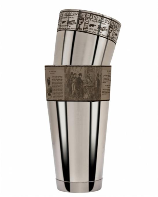 Maggiore Produzioni ,Shaker Boston Crusta Figurale 900 e 600 ml