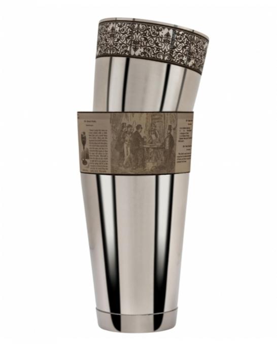 Maggiore Produzioni ,Shaker Boston Crusta Vittoriano Figurale 900 e 600 ml