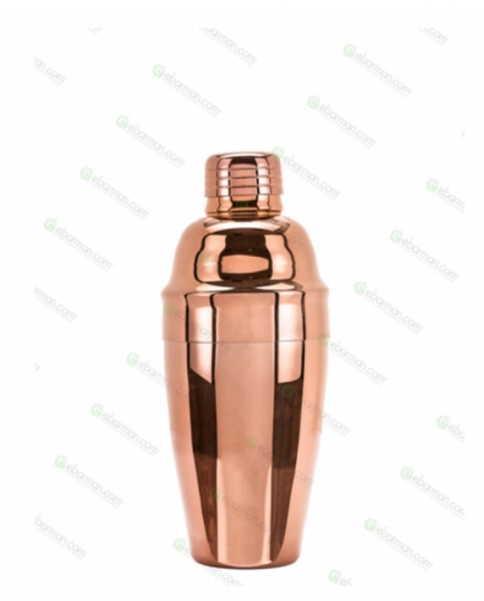 Shakers Cobbler,Shaker Cobbler Continentale 350 ml Rose Gold made in Italy