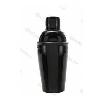 Ultimi in Stock ,Shaker cobbler Economy nero lucido 50 cl