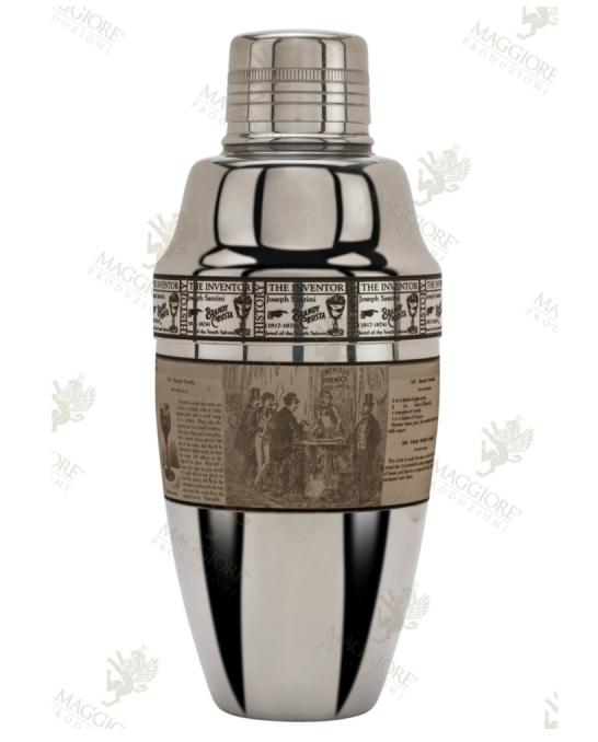 Maggiore Produzioni ,Shaker Cobbler Iron Pro Crusta Figurale 500 ml