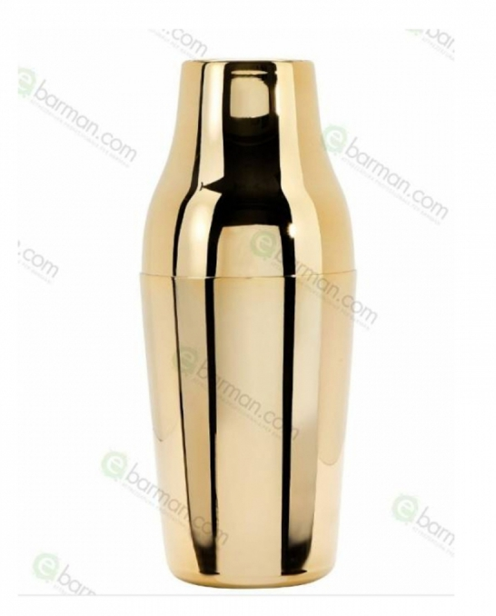 Shakers Parisienne ,Shaker Parisienne M-Ble 600 ml placcato Oro 24 carati Made in Italy
