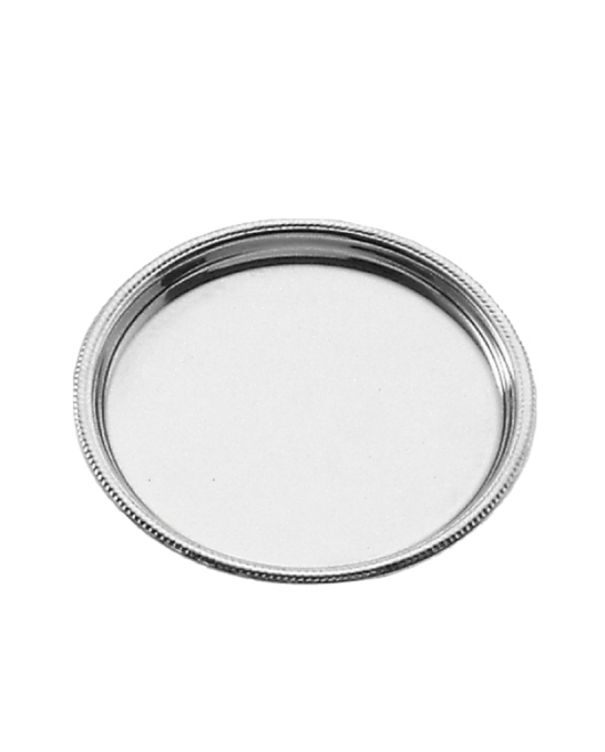 Accessori per Servizio Bar ,Sottobottiglia rotondo S.Marco in acciaio inox 15 cm
