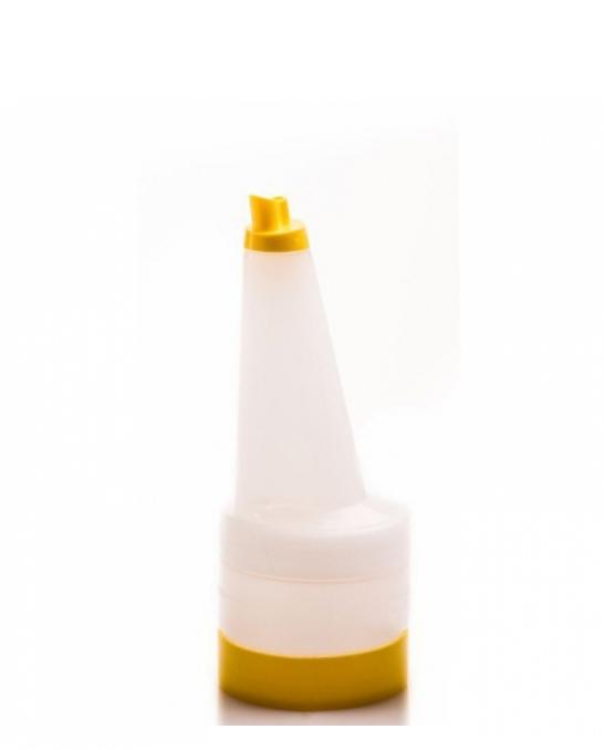 Store'n Pour & Dispenser ,Speed bottle 0,5 lt con tappo Giallo