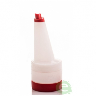 Store'n Pour & Dispenser ,Speed bottle 0,5 lt con tappo Rosso